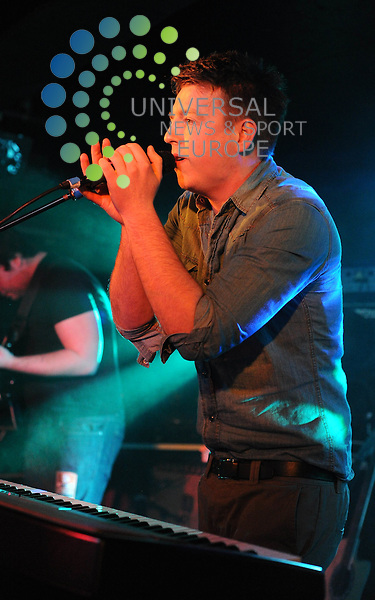 4DAYWEEKEND play support to Toploader at Glasgows King Tuts Wah Wah Hut on 16 March 2011, Picture: Al Goold/Universal News and Sport (Europe) 2011.
