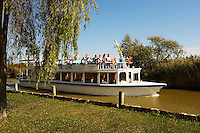 Lake cruiser at Morbish - am - see, Neusiedler See, Austria