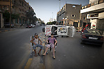 Remi OCHLIK/IP3 PRESS - On august, 28, 2011 In Tripoli - Daily life in Tripoli