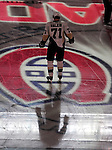 6 February 2010: Pittsburgh Penguins' center Evgeni Malkin stands at center ice prior to a game against the Montreal Canadiens at the Bell Centre in Montreal, Quebec, Canada. The Canadiens defeated the Penguins 5-3. Mandatory Credit: Ed Wolfstein Photo