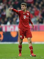 FUSSBALL   1. BUNDESLIGA  SAISON 2012/2013   11. Spieltag FC Bayern Muenchen - Eintracht Frankfurt    10.11.2012 Thomas Mueller (FC Bayern Muenchen)