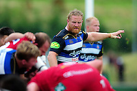 Ross Batty of Bath Rugby looks on. Pre-season friendly match, between the Scarlets and Bath Rugby on August 20, 2016 at Eirias Park in Colwyn Bay, Wales. Photo by: Patrick Khachfe / Onside Images