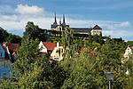 Europe, Germany, Bamberg. Baamberg and Michaelsberg Abbey.