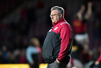 Harlequins Director of Rugby John Kingston looks on during the pre-match warm-up. Aviva Premiership match, between Harlequins and Exeter Chiefs on April 14, 2017 at the Twickenham Stoop in London, England. Photo by: Patrick Khachfe / JMP