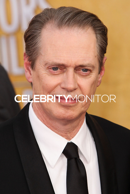 LOS ANGELES, CA - JANUARY 18: Steve Buscemi at the 20th Annual Screen Actors Guild Awards held at The Shrine Auditorium on January 18, 2014 in Los Angeles, California. (Photo by Xavier Collin/Celebrity Monitor)