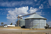 Grain silos, Western Victoria.<br />