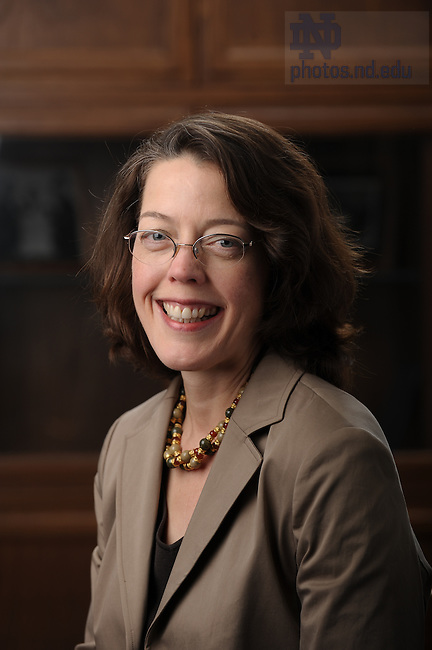 Law School professor Mary Ellen O'Connell..Photo by Matt Cashore/University of Notre Dame
