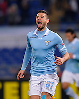 Fussball Euro League 2012/13: Lazio Rom - Gladbach