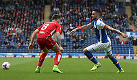Blackburn Rovers' Derrick Williams and Bristol City's Josh Brownhill<br /> <br /> Photographer Stephen White/CameraSport<br /> <br /> The EFL Sky Bet Championship - Blackburn Rovers v Bristol City - Monday 17th April 2017 - Ewood Park - Blackburn<br /> <br /> World Copyright &copy; 2017 CameraSport. All rights reserved. 43 Linden Ave. Countesthorpe. Leicester. England. LE8 5PG - Tel: +44 (0) 116 277 4147 - admin@camerasport.com - www.camerasport.com