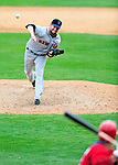1 March 2011: New York Mets' pitcher Bobby Parnell in action during a Spring Training game against the Washington Nationals at Space Coast Stadium in Viera, Florida. The Nationals defeated the Mets 5-3 in Grapefruit League action. Mandatory Credit: Ed Wolfstein Photo
