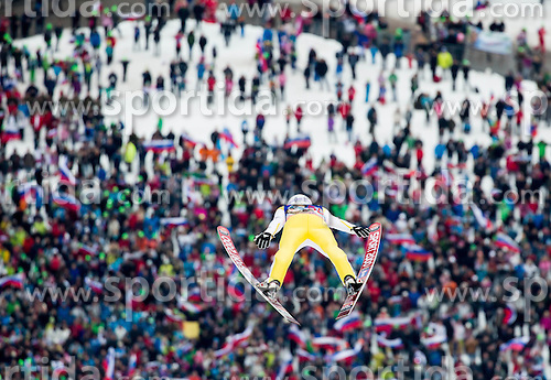 Jurij Tepes (SLO) during the Ski Flying Hill Individual Competition at Day 1 of FIS Ski Jumping World Cup Final 2016, on March 17, 2016 in Planica, Slovenia. Photo by Vid Ponikvar / Sportida