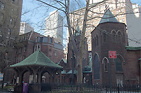 "Little Church Around the Corner, ""Transfiguration"", designed by F.C. Withers, New York, New York, 5th Ave New York, Neo-Gothic New York, 5th Ave"
