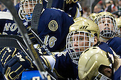 Calle Ridderwall (Notre Dame - 22) - The University of Notre Dame Fighting Irish defeated the Merrimack College Warriors 4-3 in overtime in their NCAA Northeast Regional Semi-Final on Saturday, March 26, 2011, at Verizon Wireless Arena in Manchester, New Hampshire.