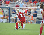 Ole Miss vs. Louisiana-Lafayette in college soccer action at the Ole Miss Soccer Stadium in Oxford, Miss. on Sunday, August 26, 2012. Rafaelle Souza delivered her fourth goal of the season in the 12th minute for Ole Miss (4-0).