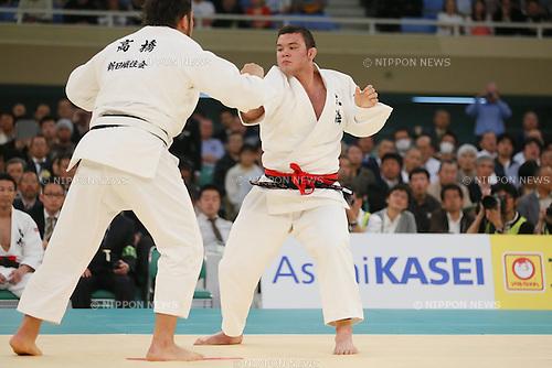 Aaron Wolf, APRIL 29, 2014 - Judo : 2014 All Japan Judo Championships at Nihon Budokan, Tokyo, Japan. (Photo by Yusuke Nakanishi/AFLO SPORT)