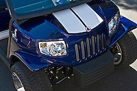 Golf Cart Blue Grille, Custom, Classic, Unique,