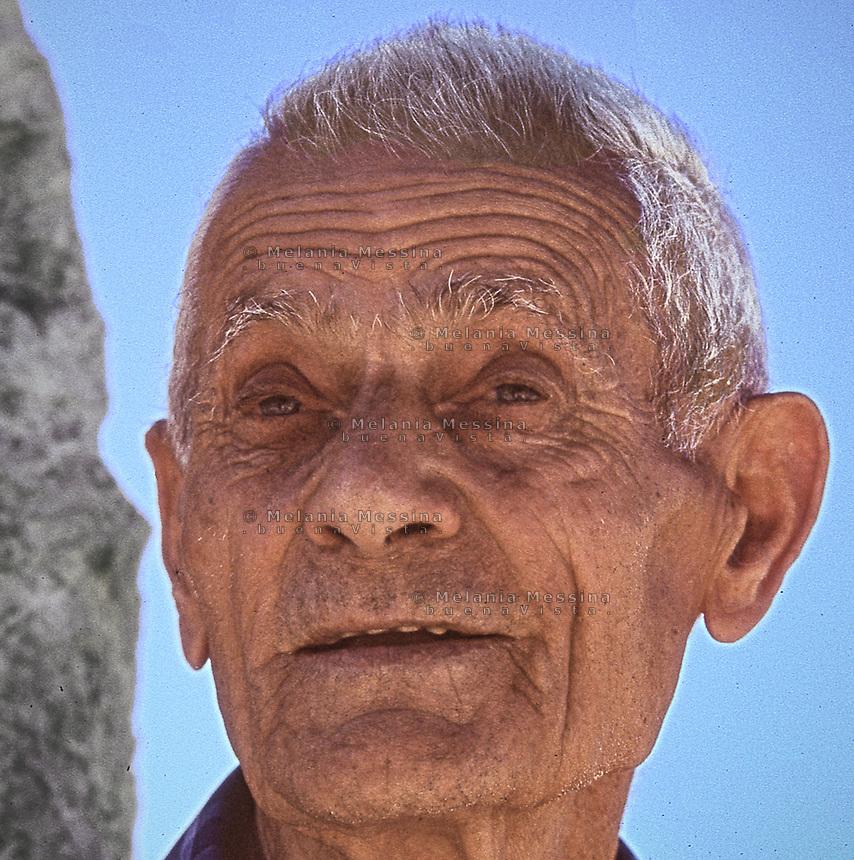 Mario nicosia is one of the witnesses who survived to the massacre of Portella della Ginestra still alive. <br /> Mario Nicosia, testimone della strage di Portella della Ginestra.