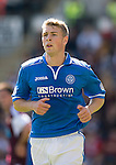 St Johnstone FC Season 2013-14<br /> David Wotherspoon<br /> Picture by Graeme Hart.<br /> Copyright Perthshire Picture Agency<br /> Tel: 01738 623350  Mobile: 07990 594431