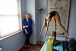 New York, NY - October 03, 2013 : Author Erica Jong at her apartment in New York, NY on October 03, 2013. Fear of Flying, celebrating its 40th anniversary, is a 1973 novel by Erica Jong, which became famously controversial for its attitudes towards female sexuality, and figured in the development of second-wave feminism.