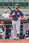 20 March 2015: Houston Astros infielder Gregorio Petit in Spring Training action against the Washington Nationals at Osceola County Stadium in Kissimmee, Florida. The Astros fell to the Nationals 7-5 in Grapefruit League play. Mandatory Credit: Ed Wolfstein Photo *** RAW (NEF) Image File Available ***