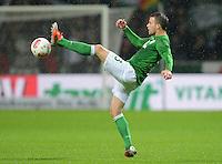 USSBALL   1. BUNDESLIGA    SAISON 2012/2013    10. Spieltag   Werder Bremen - FSV Mainz 05                             04.11.2012 Lukas Schmitz (SV Werder Bremen)