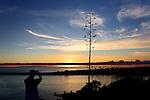 Sunset at the Wedge 4, Balboa Peninsula, CA.