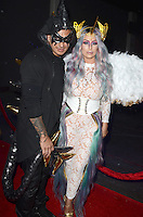 LOS ANGELES, CA - OCTOBER 22: Pauly D and Aubrey O'Day at the Maxim Halloween at The Shrine Expo Hall on October 22, 2016 in Los Angeles, California. Credit: David Edwards/MediaPunch