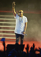 MIAMI, FL - OCTOBER 29: Alexander Delgado of Gente de Zona performs at the Jennifer Lopez Gets Loud for Hillary Clinton at GOTV Concert in Miami at Bayfront Park Amphitheatre on October 29, 2016 in Miami, Florida. Credit: MPI10 / MediaPunch