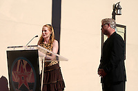 Marg Helgenberger    & William Petersen at  the Hollywood Walk of Fame Star Ceremony for WIlliam Petersen in front of Musso's & Franks Resturant in Los Angeles, CA on .February 3, 2009.©2008 Kathy Hutchins / Hutchins Photo..