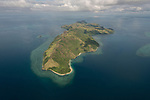Aerial - of Yangganga Island Northern Division.