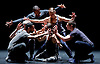 Kidd Pivot/ Electric Company Theatre<br /> Betroffenheit<br /> by Created by Crystal Pite and Jonathan Young<br /> <br /> Written by: Jonathon Young<br /> Choreographed and Directed by: Crystal Pite<br /> <br /> <br /> Sadler&rsquo;s Wells, London, Great Britain <br /> <br /> 11th April 2017 <br /> <br /> <br /> <br /> Performers: <br /> <br /> Bryan Arias<br /> <br /> David Raymond<br /> <br /> Cindy Salgado<br /> <br /> Jermaine Spivey<br /> <br /> Tiffany Tregarthen<br /> <br /> Jonathon Young<br /> <br /> <br /> Photograph by Elliott Franks <br /> Image licensed to Elliott Franks Photography Services