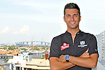 V8 Supercar Driver Fabian Coulthard.Driver of #24 car for Bundaberg Red Racing .Feature Shoot for Motorsport News.At home in unit, Port Melbourne, Victoria.9th of February 2010.(C) Joel Strickland Photographics.Use information: This image is intended for Editorial use only (e.g. news or commentary, print or electronic). Any commercial or promotional use requires additional clearance.