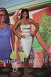 Victoria Secret Angel, Sports Illustrated Swimsuit Model and Actress Chanel Iman at the Sunglass Hut Electric Summer Campaign Kick-Off Held at Industry Kitchen