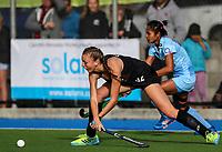 Madison (Maddie) Doar during the international hockey match between the Blacksticks Women and India, Rosa Birch Park, Pukekohe, New Zealand. Sunday 14  May 2017. Photo:Simon Watts / www.bwmedia.co.nz