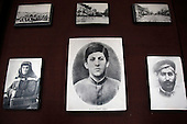 Pictures of Joself Stalin at the Stalin museum in Gori, central Georgia, where the Soviet dictator was born.