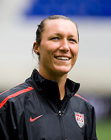 Jill Loyden. The USWNT defeated Mexico, 1-0, during the game at Red Bull Arena in Harrison, NJ.