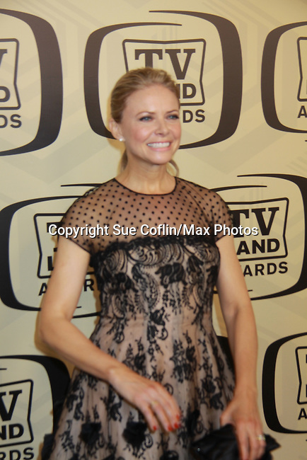 """One Life To Live and Another World's Faith Ford wearing Oscar de la Renta attends 10th Anniversary of the TV Land Awards on April 14, 2012 to honor shows """"Murphy Brown"""", """"Laverne & Shirley"""", """"Pee-Wee's Playhouse"""", """"In Loving Color"""" and """"One Day At A Time"""" and Aretha Franklin at the Lexington Armory, New York City, New York. (Photo by Sue Coflin/Max Photos)"""