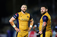 Jon Fisher of Bristol Rugby looks on during a break in play. European Rugby Challenge Cup match, between Bath Rugby and Bristol Rugby on October 20, 2016 at the Recreation Ground in Bath, England. Photo by: Patrick Khachfe / Onside Images