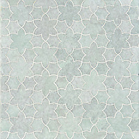 Cadiz, a handmade mosaic  shown in polished Ming Green, is part of the Miraflores Collection by Paul Schatz for New Ravenna