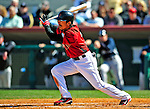 2 March 2009: Houston Astros' second baseman Kazuo Matsui in action during a Spring Training game against the New York Yankees at Osceola County Stadium in Kissimmee, Florida. The teams played to a 5-5, 9-inning tie. Mandatory Photo Credit: Ed Wolfstein Photo