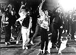Michael Jackson 1983 filming 'Beat It' Video