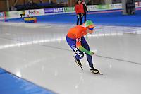 SCHAATSEN: BERLIJN: Sportforum, 08-12-2013, Essent ISU World Cup, 1000m Ladies Division B, Antoinette de Jong (NED), ©foto Martin de Jong