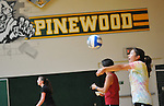 Pinewood School varsity volleyball