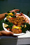 FL: Florida Everglades National Park, cuisine, food, stone crab claws.Photo Copyright: Lee Foster, lee@fostertravel.com, www.fostertravel.com, (510) 549-2202.Image: flever268
