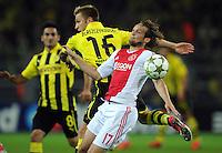 FUSSBALL   CHAMPIONS LEAGUE   SAISON 2012/2013   GRUPPENPHASE   Borussia Dortmund - Ajax Amsterdam                            18.09.2012 Jakub  KUBA Blaszczykowski (li, Borussia Dortmund) gegen Daley Blind (re, Ajax)