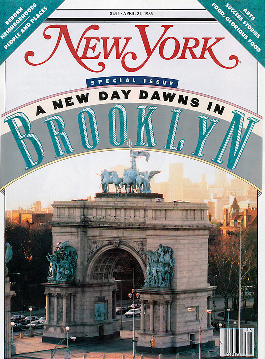 New York Magazine- a New Day Dawns in Brooklyn