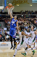 Corey Webster in action during the NBL - Wellington Saints v Manawatu Jets at TSB Bank Arena, Queens Wharf, Wellington, New Zealand on Thursday 8 May 2014. <br /> Photo by Masanori Udagawa. <br /> www.photowellington.photoshelter.com.