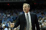 18 December 2013: Texas head coach Rick Barnes. The University of North Carolina Tar Heels played the University of Texas Longhorns at the Dean E. Smith Center in Chapel Hill, North Carolina in a 2013-14 NCAA Division I Men's Basketball game.