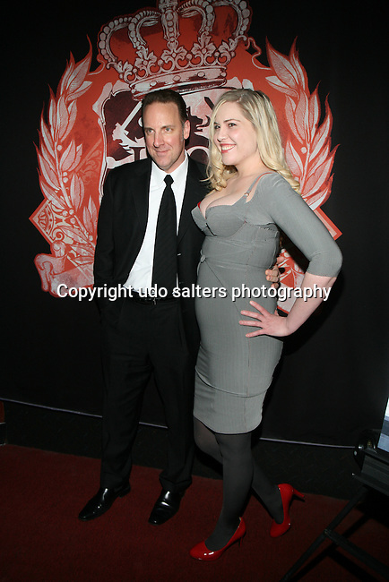 Terry Camp and Deputy Editor of xoJane.com Mandy Stadtmiller attend The Southern Ivy XXX Vixen Belle Knox at HeadQuarters Gentlemen's Club, NY