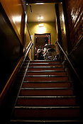 Kings Baracade stairwell during Hopscotch in Raleigh on Friday September 7th 2012.